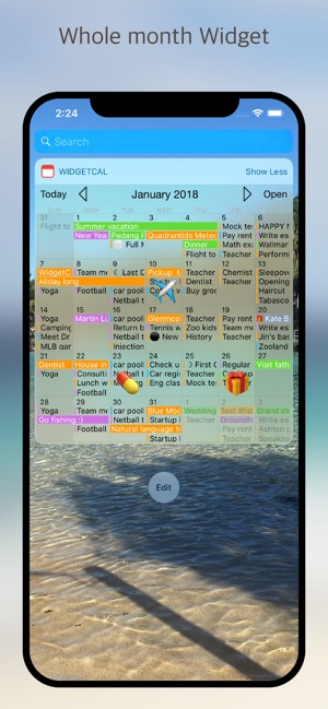 Widget Calendario Samsung.Widgetcal Calendar Widget On The App Store