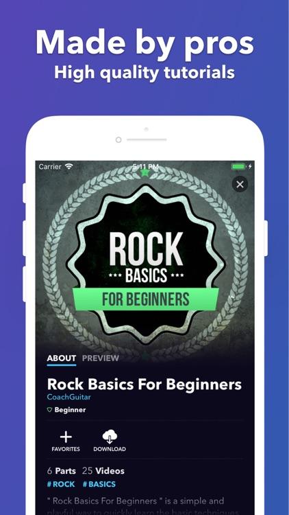 Guitar Lessons | Coach Guitar screenshot-5