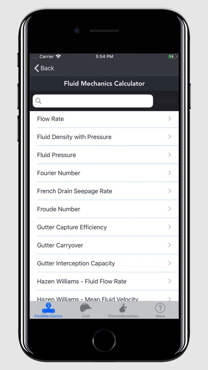 Fluid Mechanics Calculator screenshot-7