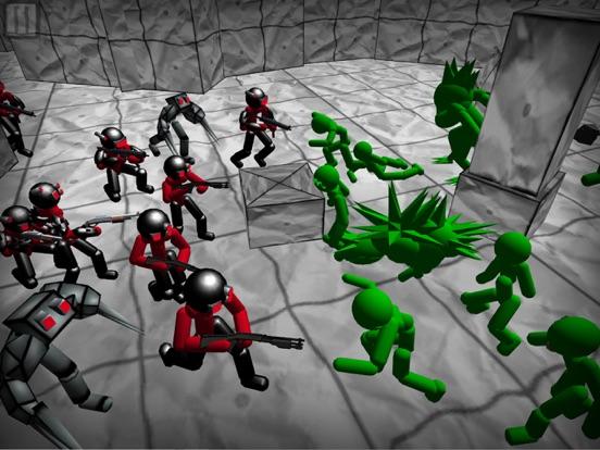 Battle Sim: Stickman Zombie screenshot 8