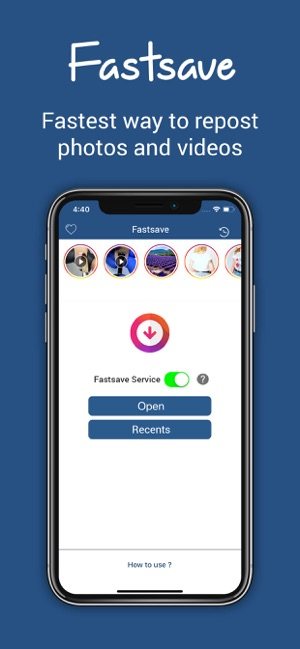 Fastsave Repost Photo Videos On The App Store