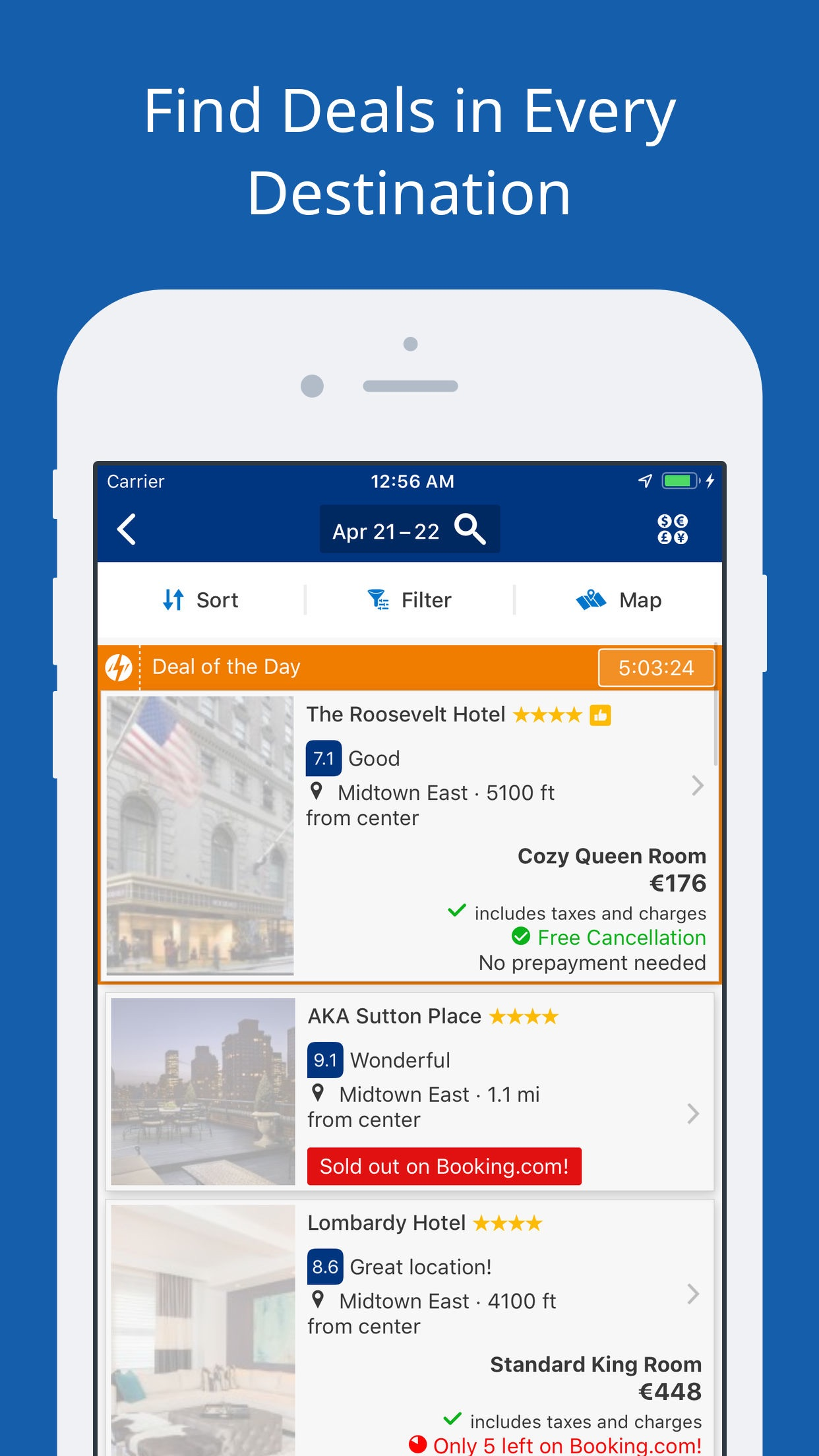 Booking.com: Hotels & Travel Screenshot