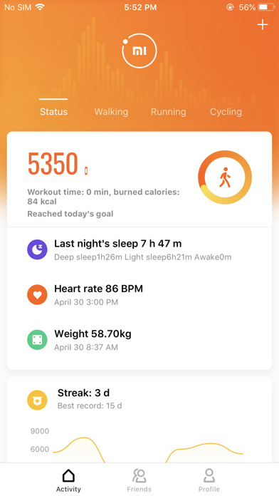 Mi Fit by Anhui Huami Information Technology Co , Ltd  (iOS, United