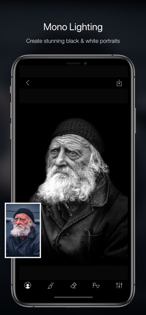 ‎Phocus: Portrait mode editor Screenshot