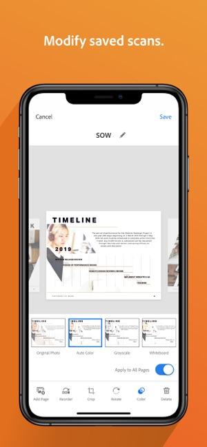 Adobe Scan: Document Scanner on the App Store