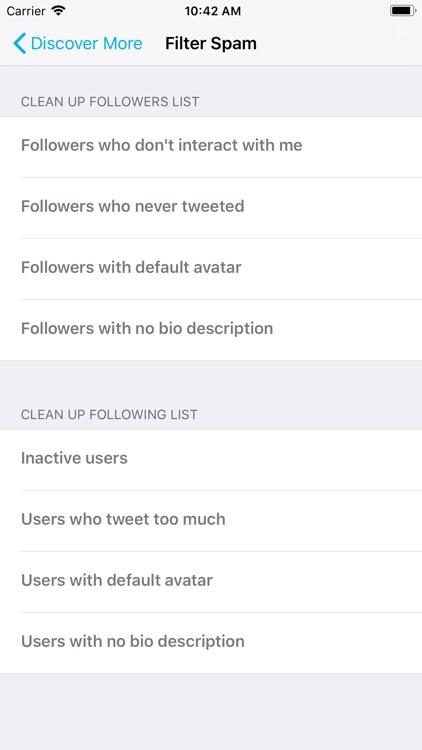 Find Unfollowers For Twitter screenshot-4