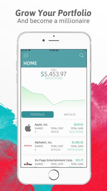 Virtual Stock Market Game screenshot-0