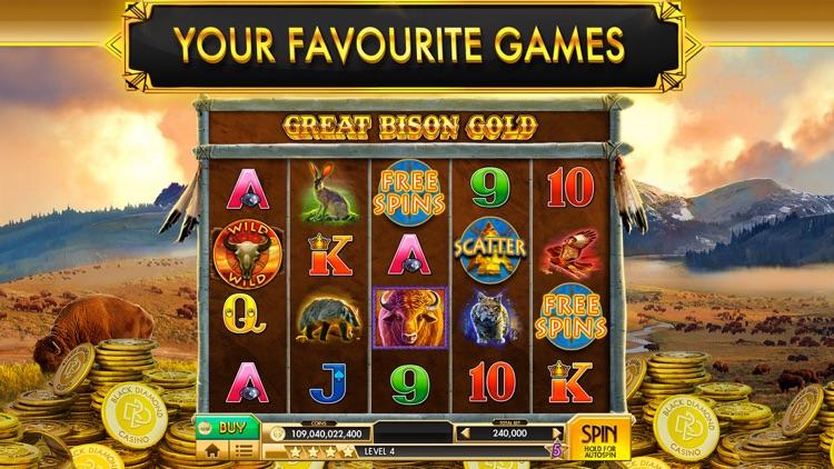 Black Diamond Stories & Slots screenshot-7