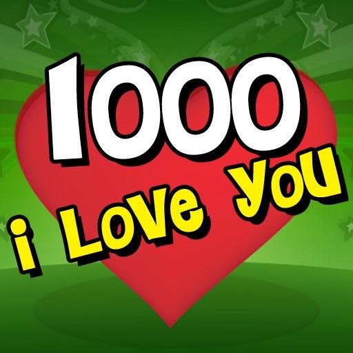 1000 I Love You! by GeneraFun