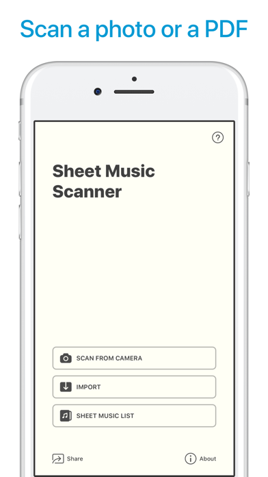 download Sheet Music Scanner apps 0