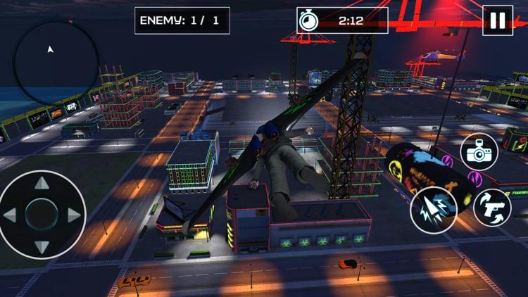 Jetpack City Criminal Fighter screenshot-3