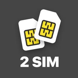 Virtual SIM card: second phone