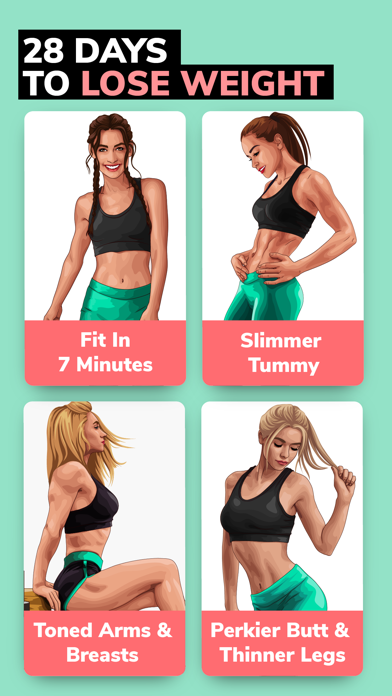Screenshot for BetterMe: Weight Loss Workouts in Turkey App Store