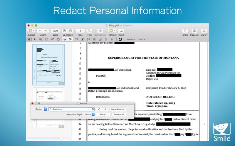PDFpen 11 скриншот программы 3