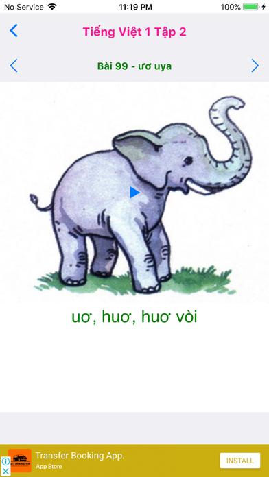 Tieng Viet 1 - Tap 2 screenshot 5