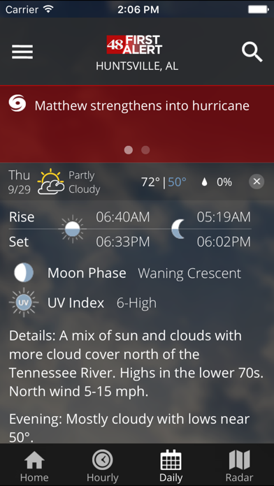 Waff 48 Storm Team Weather review screenshots