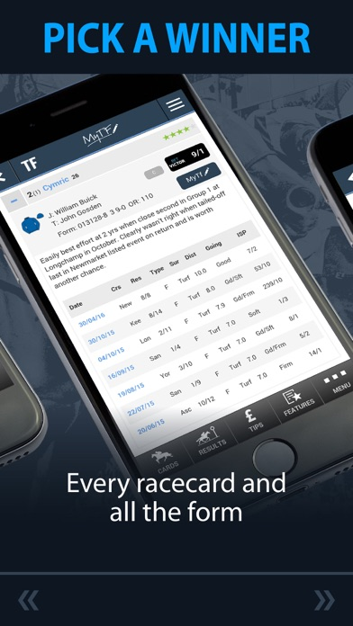 Timeform Horse Racing – Race Cards, Results, Tips and Betting Odds screenshot
