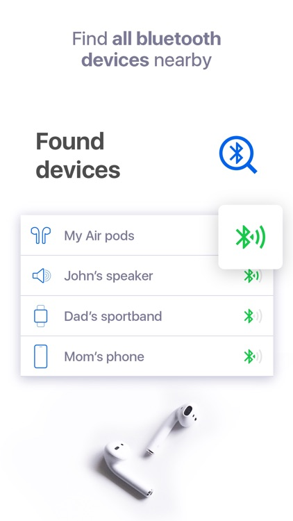 Bluetooth Headphones Finder