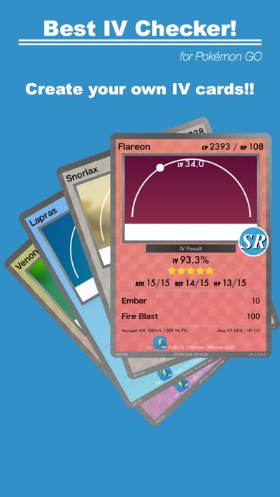 Screenshot #1 pour Auto IV Checker for Pokémon GO