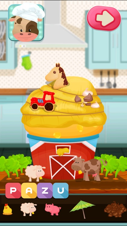 Cooking games for toddlers screenshot-3