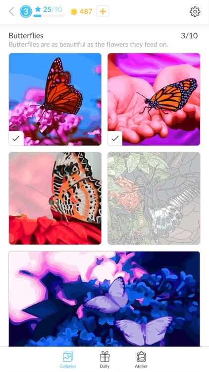 April Coloring screenshot-3