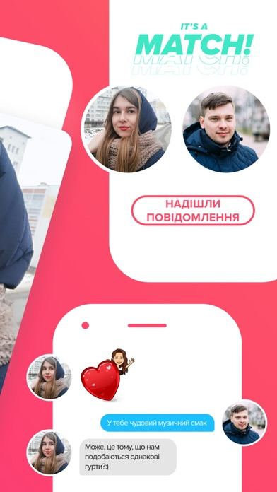 Screenshot for Tinder in Ukraine App Store