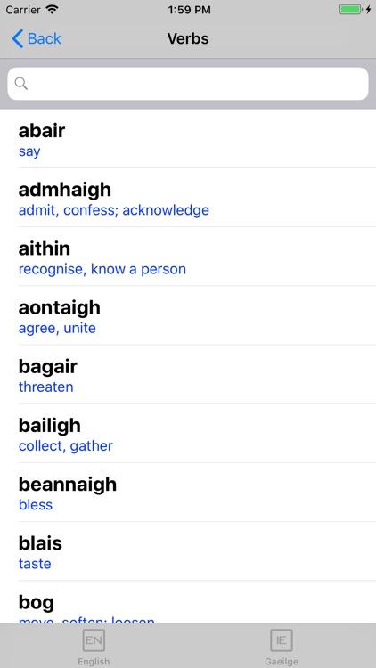 Irish Verb Blitz screenshot-4