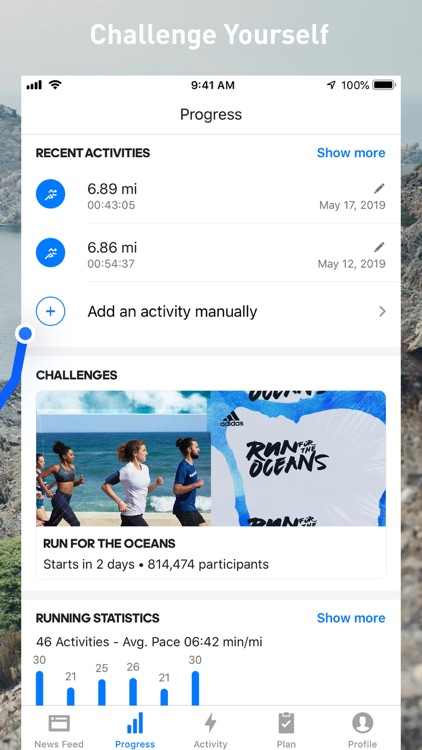 Runtastic Running Tracker PRO screenshot-2