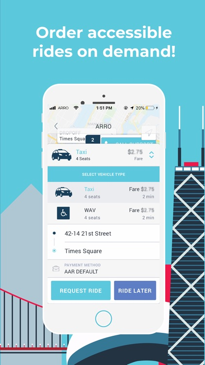 Arro - Taxi App screenshot-4