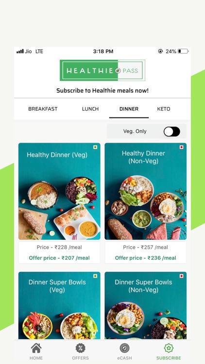 Healthie.in-Healthy Food Order