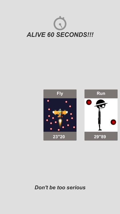 坚持90秒 - 飞,跑,骑,跳 screenshot-0