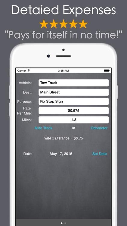 MEL: Car Mileage & Expense Log screenshot-4