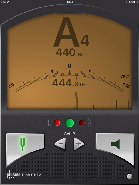 Tuner by plusadd – The Ultimate Chromatic Tuner for Guitar, Bass, Ukulele  and Violin screenshot