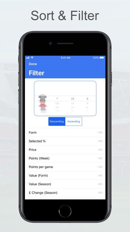 Fantasy Football Manager, Lite screenshot-8