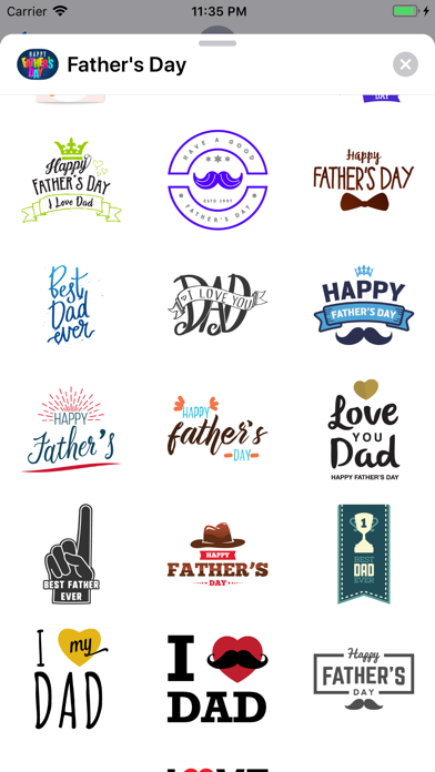 Fathers Day Wishes for Dad Emo Screenshot