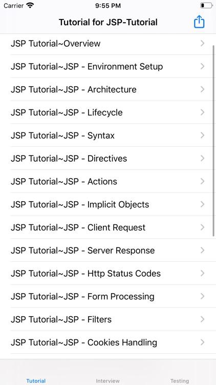 Tutorial of JSP