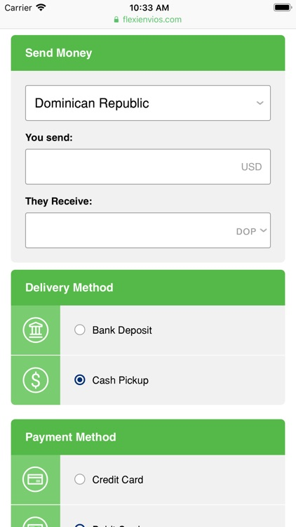 Flexienvíos Money Transfer By