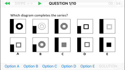 Abstract Logical Reasoning Screenshots