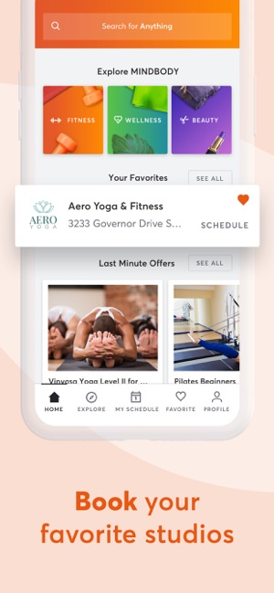 MINDBODY: Gym, yoga & wellness on the App Store