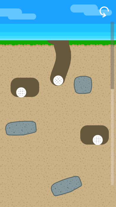 Dig Your Way Out - Golf Nest screenshot 1