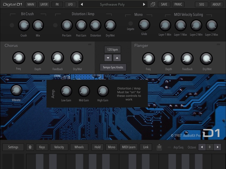 AudioKit Digital D1 Synth screenshot-4