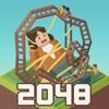 2048タイクーン: 遊園地マニア(2048 Tycoon) - iPadアプリ