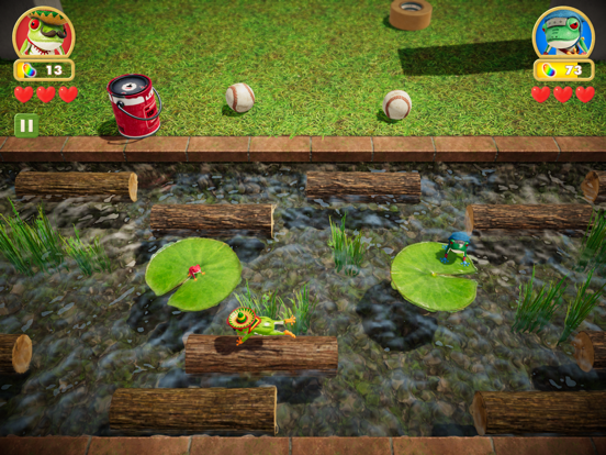 Frogger in Toy Town Screenshots