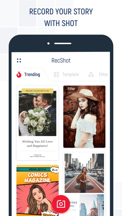 RecShot-Create Your Story