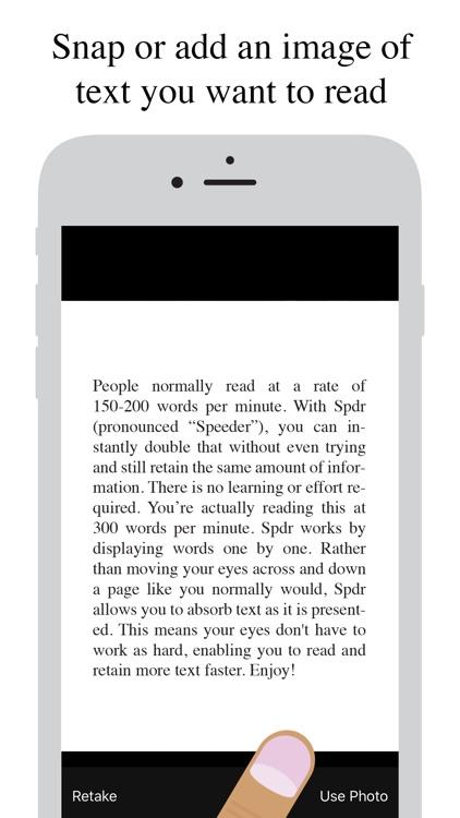 Spdr - Speed Reading screenshot-6