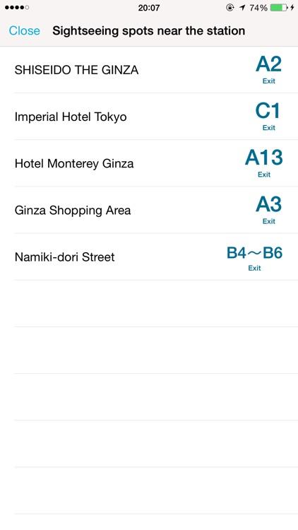 Tokyo Subway Navigation screenshot-4