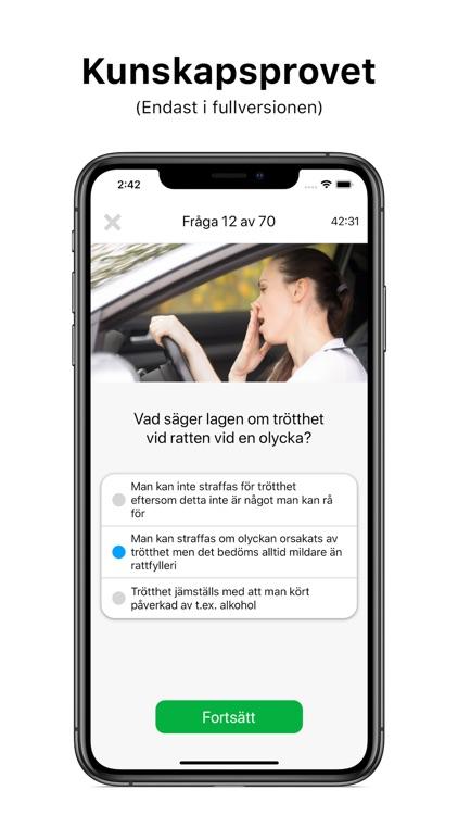 Körkortsfrågor screenshot-3