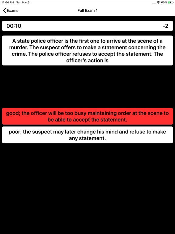 State Trooper Exam Prep screenshot 13