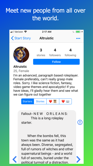 Rook: Roleplay Chat Text Story by Animet, Inc  (iOS, United