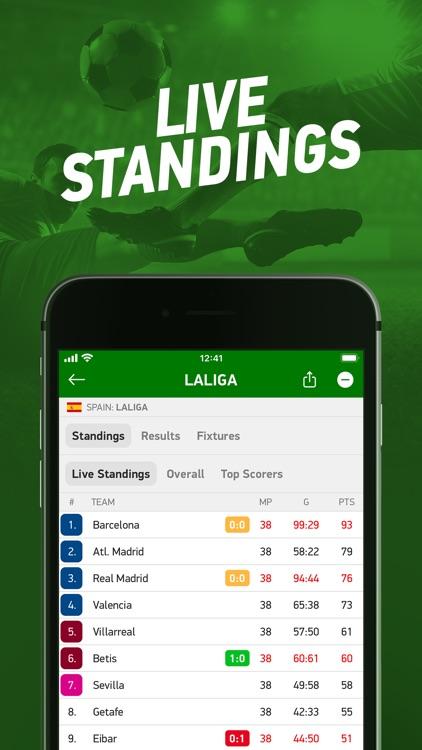 FlashScore - live scores screenshot-4